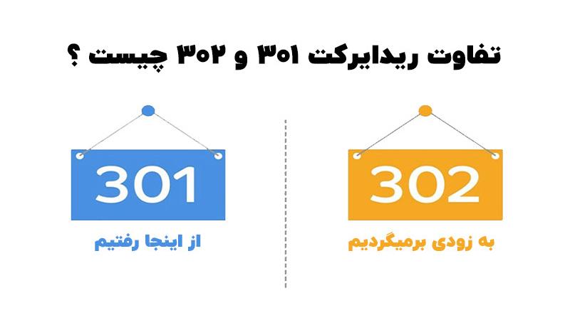 تفاوت-ریدایرکت-۳۰۱-و-۳۰۲-چیست-1